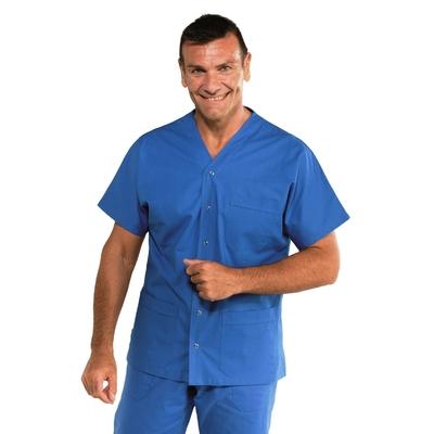 Tunique medicale Unisex 100% coton Cancun bleu - 041106.jpg