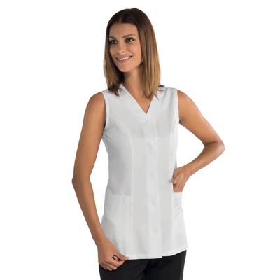 Tunique de travail blanche sans manches Bahia Tissu Superdry - 011430.jpg