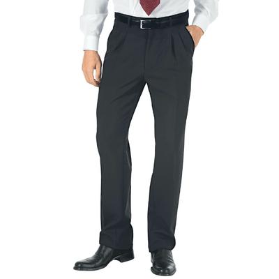 Pantalon a Pinces Homme Hiver Anthracite - 063421.jpg