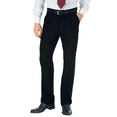 Pantalon a Pinces Homme Hiver Noir - 063401.jpg