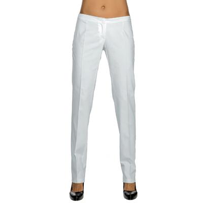 Pantalon Slim Femme Blanc 100% Coton - 024800.jpg
