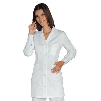 Tunique Medicale Marbella Blanc 100% Coton - 031509.jpg
