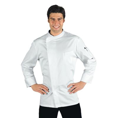 Veste Cuisinier blanche Bilbao 100% Coton - 059320.jpg