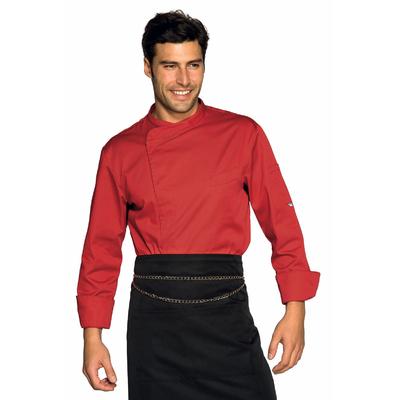 Veste Chef Cuisinier Bilbao Rouge - 059307.jpg