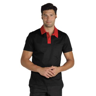 Polo Miami Unisexe Stretch Noir Rouge - 028777.jpg