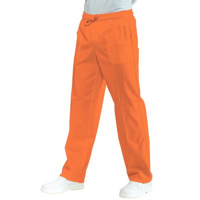 Pantalon Medical Mixte a Taille Elastique Ocre corallo - 044711.jpg