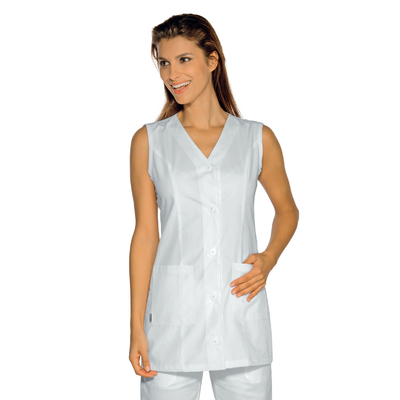 Tunique medicale sans manche Tropea blanche - 011200.jpg