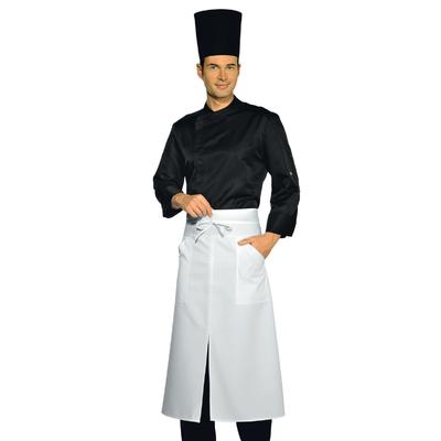 Veste Chef Cuisinier Malaga noire Microfibres - 059931.jpg