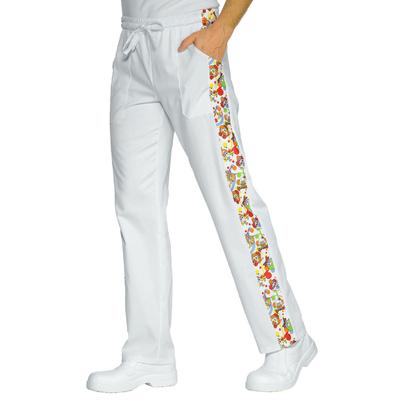 Pantalon Cuisinier Blanc smile - 044632.jpg