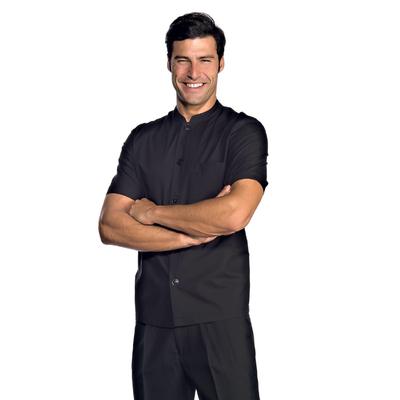 Tunique de travail Homme manche courte noire - 056021.jpg
