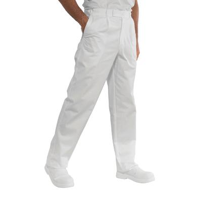 Pantalon de Chef Cuisinier Blanc - 064200.jpg