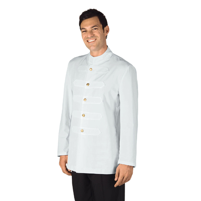 Veste Coreana avec Boutons Brodes Blanc - 066700.jpg