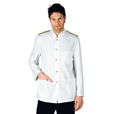 Veste Major d' Homme Blanche Epaulettes Tressees - 066200.jpg