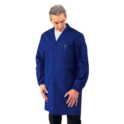 Blouse Medicale Homme Manches longues Bleu Cyan - 061006.jpg