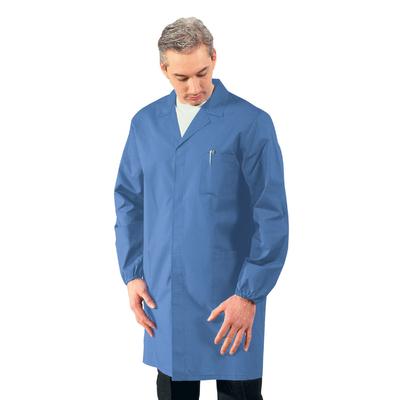 Blouse Medicale Homme Manches longues Bleu Clair - 061004.jpg