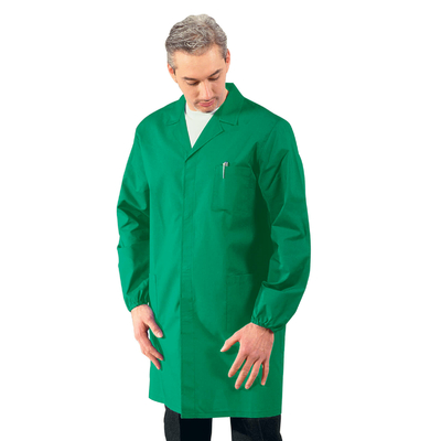 Blouse Medicale Homme Manches longues Vert - 061002.jpg