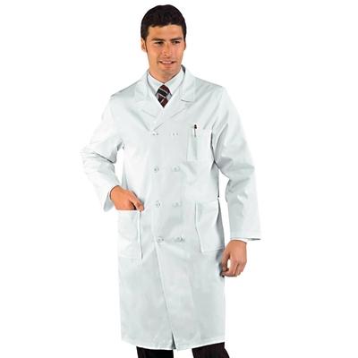 Blouse Medicale Doubles Boutonnage Cm 110 Blanc 100% Coton - 060300.jpg