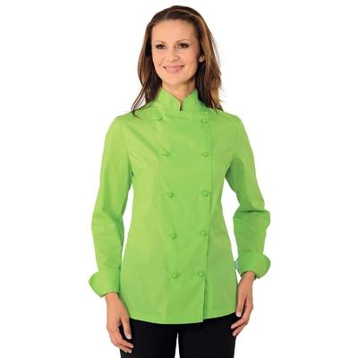 Veste de Cuisine Femme Ultra Leg�re Vert Pomme - 057536.jpg