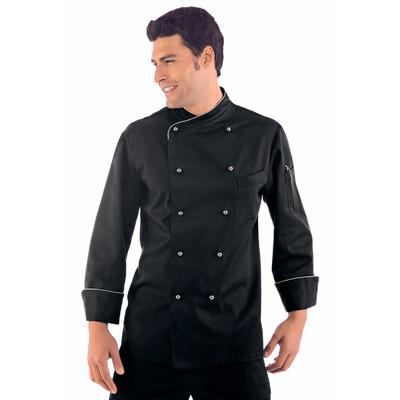 Veste Chef Cuisinier Lima Noir - 057461.jpg