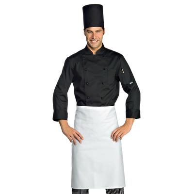 Veste Chef Cuisinier Extralight Manches Longues Noir - 057011.jpg