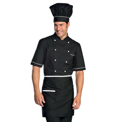 Veste Chef Cuisinier Alicante Noir Blanc - 056920.jpg