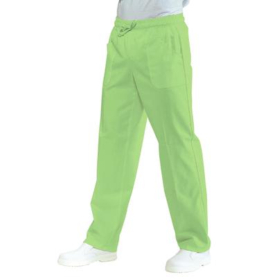 Pantalon Medical Mixte Taille Elastique Vert Pomme - 044726.jpg