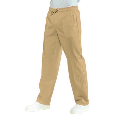 Pantalon Medical Mixte  Taille Elastique Biscuit - 044715.jpg