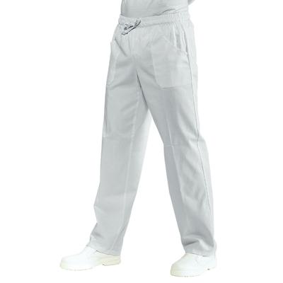 Pantalon Blanc Medical Mixte Taille Elastique Super Dry - 044300.jpg