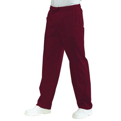 Pantalon Medical Mixte Taille Elastique  Bordeaux - 044203.jpg