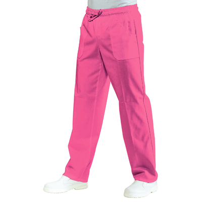 Pantalon Medical Mixte Taille Elastique Fuchsia - 044060.jpg