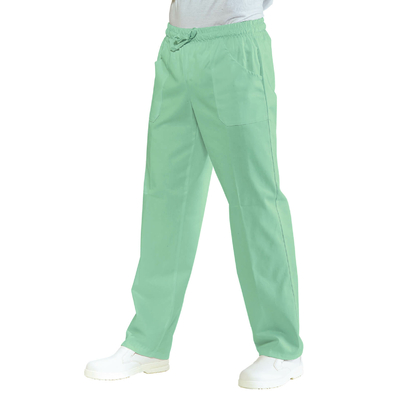 Pantalon Medical Mixte  Taille Elastique Vert Clair - 044049.jpg