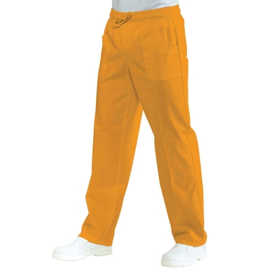 Pantalon Medical Mixte  Taille Elastique Abricot - 044013.jpg