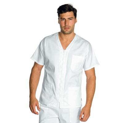 Tunique Medicale Blanche 100% Coton Milano Mixte - 041000.jpg