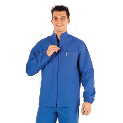 Tunique Medicale Homme Samarcanda Bleu 100% Coton - 036400.jpg