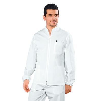 Tunique Medicale Homme Samarcanda Blanc 100% Coton - 036300.jpg