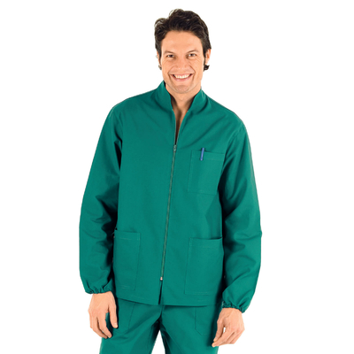 Tunique Medicale Homme Samarcanda Vert 100% Coton - 036200.jpg