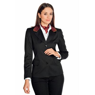 Veste Femme Mi-Saison Portland Noir Bordeaux - 027851.jpg