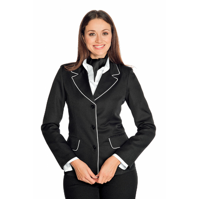 Veste Femme Portland Noire Profilo Blanc - 027711.jpg