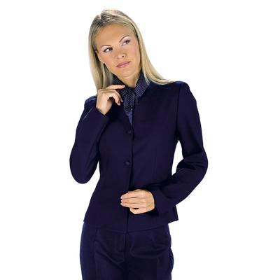 Veste Femme Col V Deborah Bleu - 027102.jpg