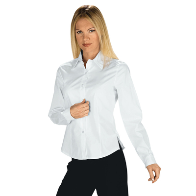 Chemise Blanche Stretch Manches longues Tenerife - 025400.jpg