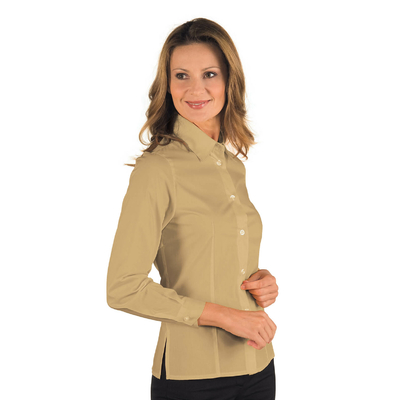 Chemise Femme Manches Longues Kyoto Biscuit - 025305.jpg