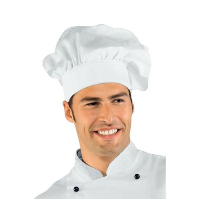 Toque de chef cuisinier  blanc - 075000.jpg