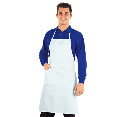 Tablier de Cuisine Complet Blanc 100% Coton - 087000.jpg