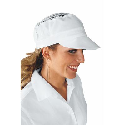 Casquette de cuisine blanche avec filet - 077000.jpg