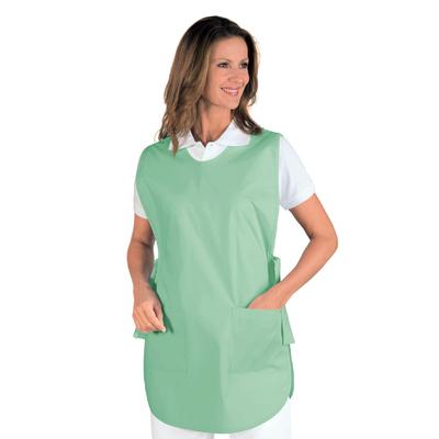Tablier Medicale Poncho Vert Clair - 010029.jpg