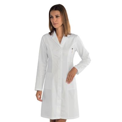 Blouse blanche médicale Coupe cintrée princesse 100% coton - 008500.jpg