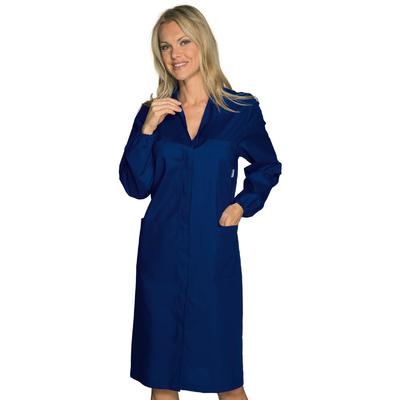 Blouse Laboratoire Femme Prévention des Risques Bleu Foncé - 009102.jpg