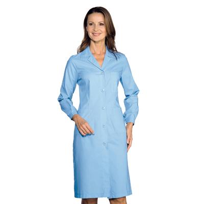 Blouse Médicale Manches Longues Femme Bleu - 009010.jpg