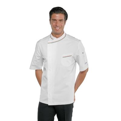 Veste blanche de Pizzaiolo en 100% coton - 059310M.jpg