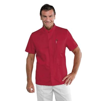 Blouse médicale rouge pour Homme - 055007M.jpg